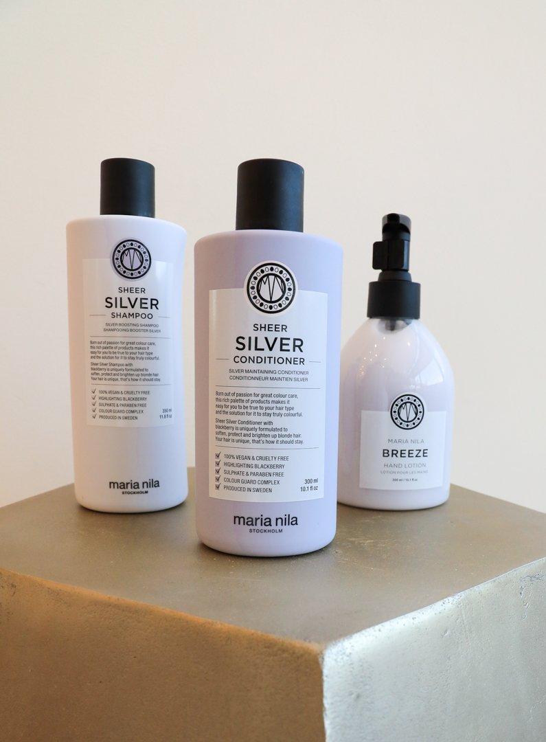 Maria Nilla Sheer Silver Self Care Set